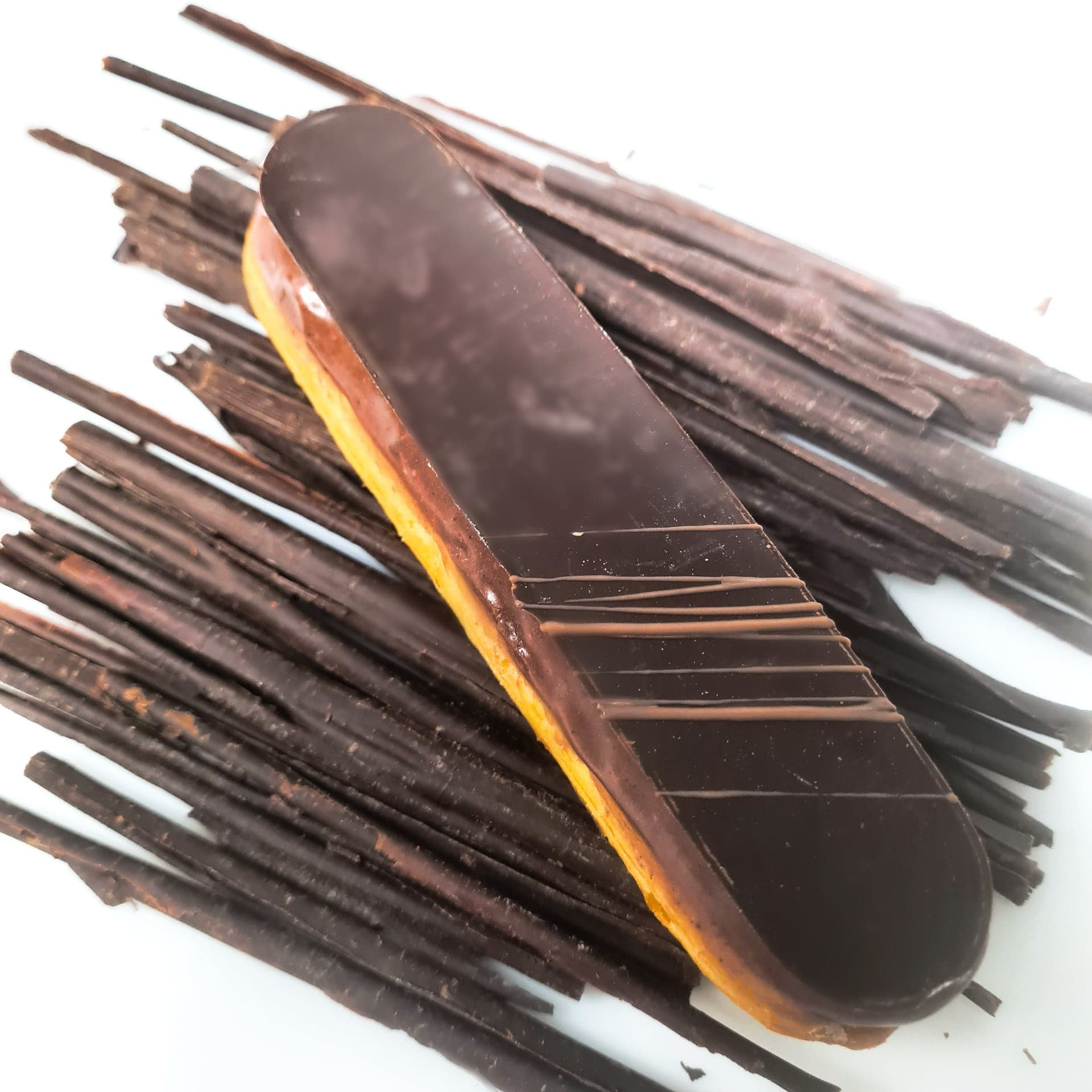 Pâte à choux, crèmeux chocolat 3 €